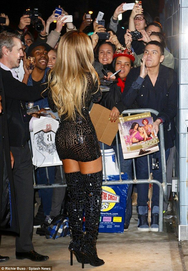 Beyonce...LOVE LOVE LOVE the boots