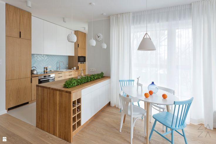 Apartament Wola / ZAZAstudio - zdjęcie od ZAZA studio - Jadalnia - Styl Skandynawski - ZAZA studio