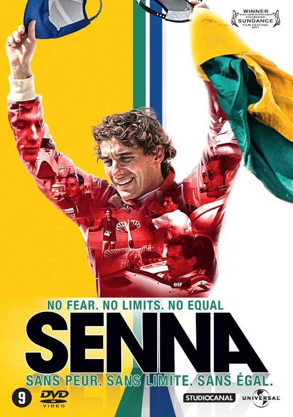 Ayrton Senna - capa de dvd
