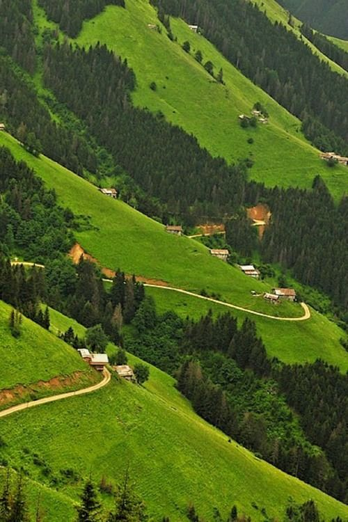 Countryside of Trabzon, Turkey. Photo by Ahmet Yapan