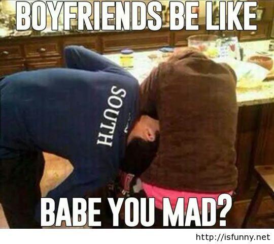 Boyfriends be like meme isfunny.net