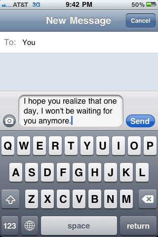 i won't be waiting for you anymore.: Funny Texts, Funny Things, Life, Quotes, Funny Stuff, Funnies, Humor