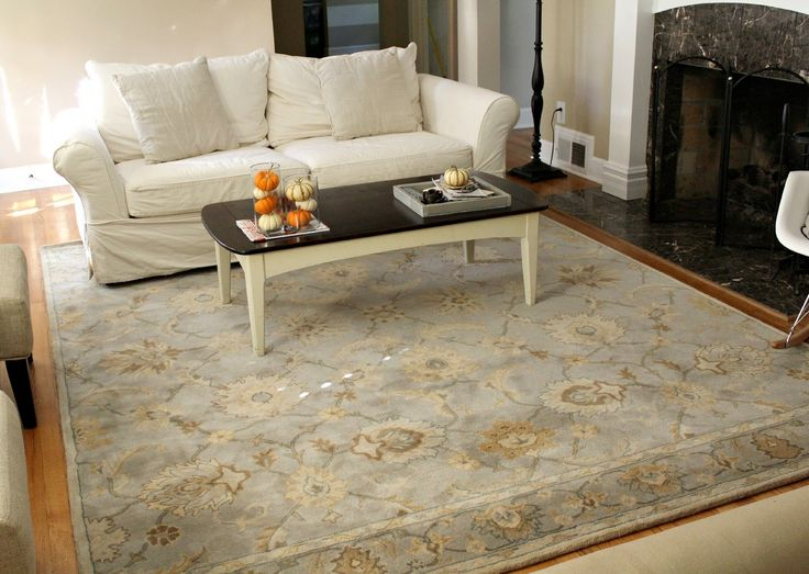 Large area rug for black white living room decoration