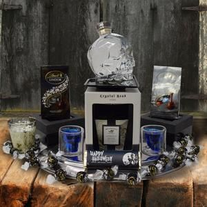 The Spooky Skeleton Halloween Gift Basket