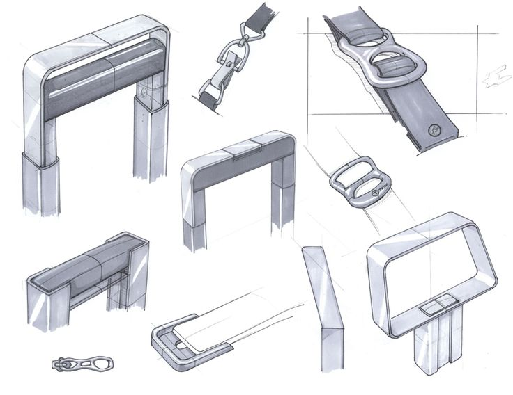 josh buller product design - sketches