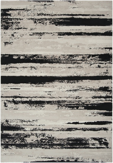 Organic lines in neutral colors for this 100% Olefin rug by Surya. Found in the Nuage Collection (NUA-1001)
