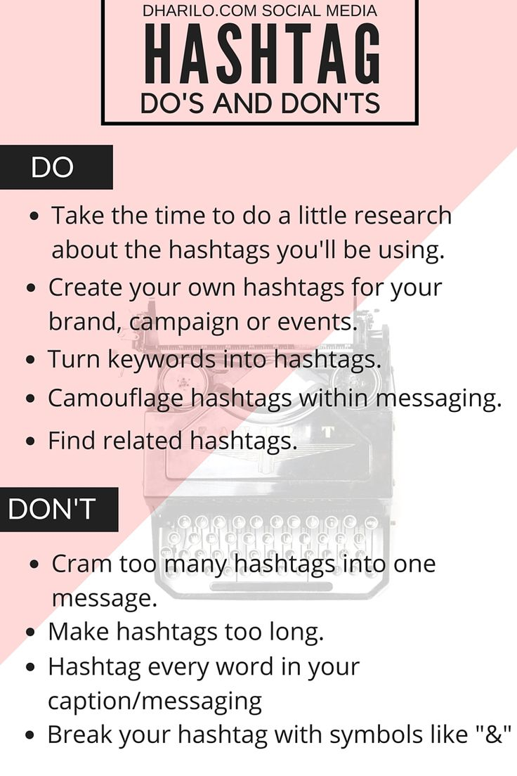 Hashtags dos and donts - 11 Common Social Media Mistakes to Avoid - @b2community