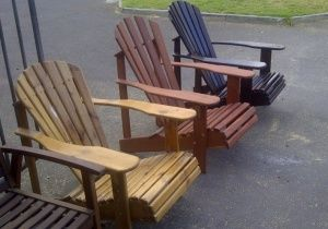 Great for relaxing on the deck, porch or patio.
