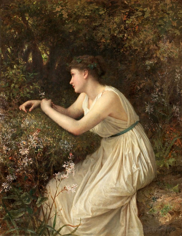 The Athenaeum - Natural Princess (Sophie Anderson - No dates listed)
