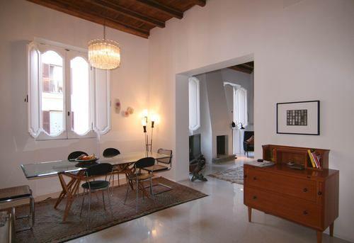 Dining room #Roma Private appartment in the heart of #Rome Collaborator with Manfredi Pistoia Architetti