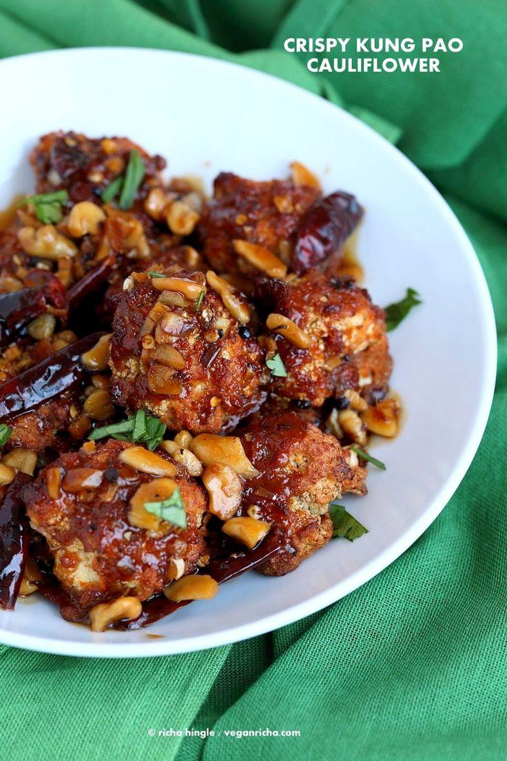 Crispy Kung Pao Cauliflower. Cauliflower
