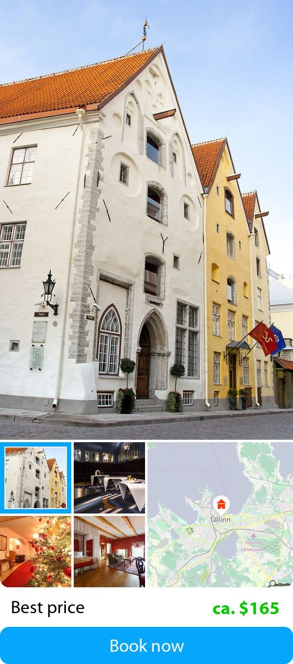 The Three Sisters Tallinn Estland Book This Hotel At Est Price On Sefibo Hotels In 2018 Pinterest Best And Third