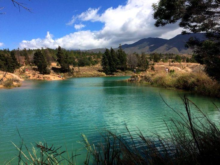Colombia - Pozos azules, Villa de Leyva, Boyaca.