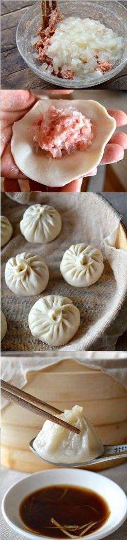 Steamed Shanghai Soup http://Dumplings.by The Woks of Life