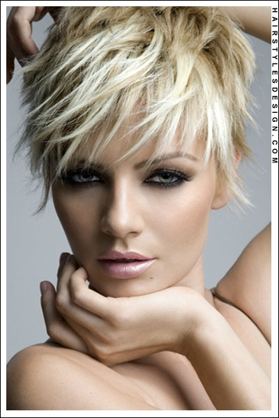 Wondrous 1000 Images About Short Blonde Hair On Pinterest Short Blonde Short Hairstyles Gunalazisus