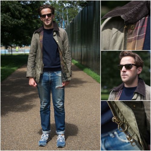 Barbour People — We spotted Huw at British Summer Time Festival,...