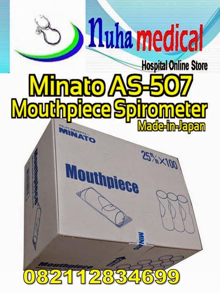 NUHA MEDICAL: JUAL MOUTHPIECE KERTAS SPIROMETRI MINATO AS-507,,B...