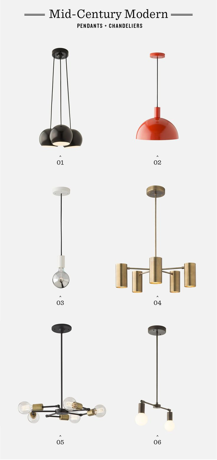 Shop Mid-Century Modern Pendants & Chandeliers by Schoolhouse Electric | Made in Portland, OR