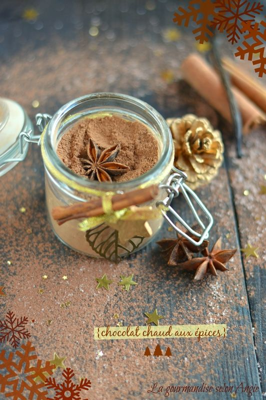 cadeau gourmand de Noël - chocolat cru aux épices | homemade christmas gift - raw spice chocolate  http://www.la-gourmandise-selon-angie.com/archives/2013/12/19/28661543.html