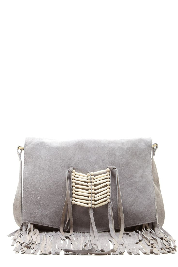 RAJ - Maria trim fringe messenger bag