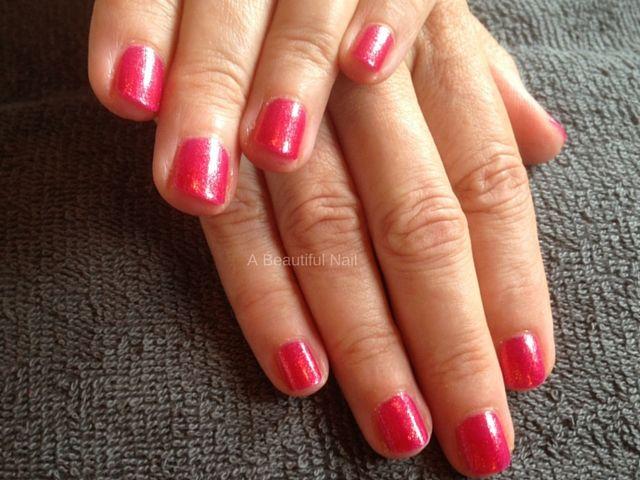 Rode nagellak Manicure #Gekleurdelak #Nagels #Nails #Manicure