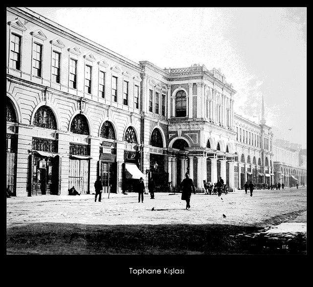 İstanbul-Yıldız Albümleri, Tophane Kışlası