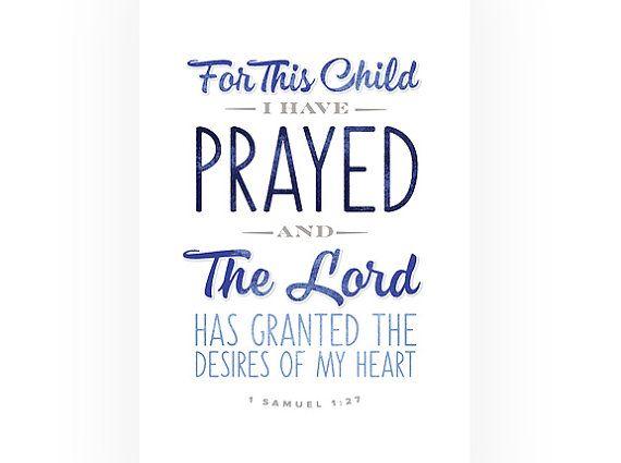 printable bible verse 1 samuel 127 baby nursery art christian typography