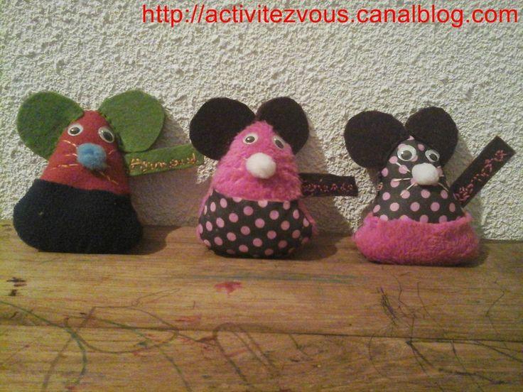 Couture (TUTO) et lecture autour de la petite souris et les dents de lait