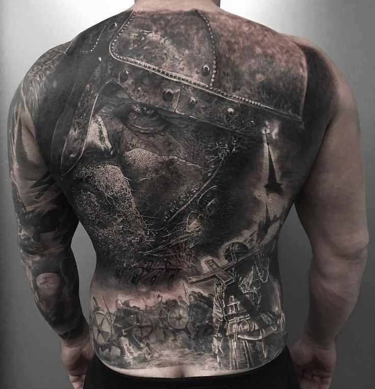 викинги фото на спине фекла