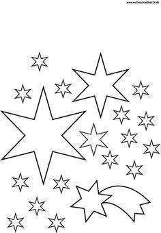 malvorlagen weihnachten kostenlos sterne – Ausmalbilder für kinder