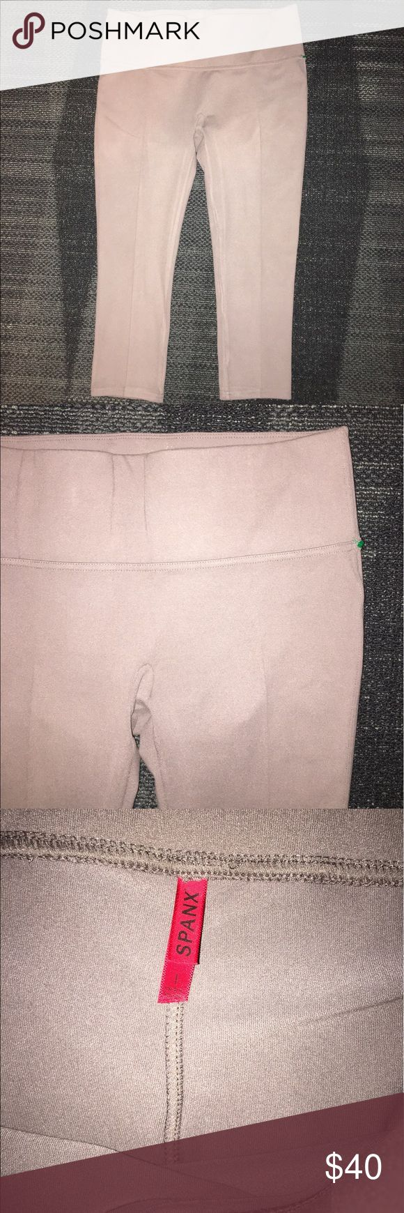 Brown spanx pants In good condition. SPANX Pants