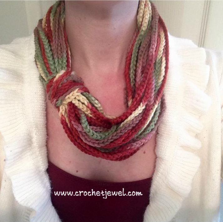 Crochet Chain Scarf If you tell others about my work, please only link back to my blog, but don't copy my pattern to your site. Also you can sell anything you make from my patterns, but don't sell the free pattern. Thank you! My Crochet You Tube Channel: https://www.youtube.com/user/amray767