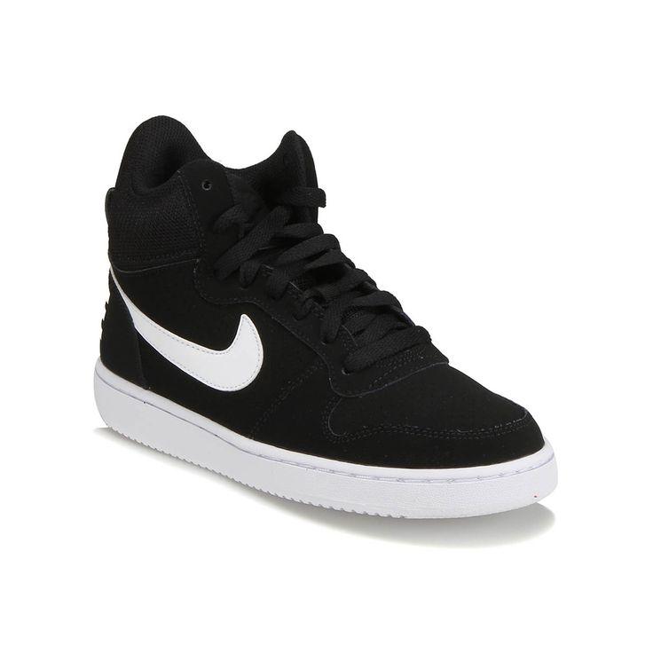 Nike COURT BOROUGH MID Siyah Gri Kadın Sneaker - Tüm Ayakkabılar - Kadın