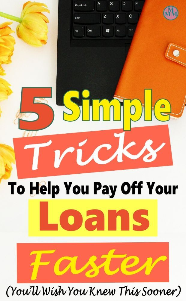 Simple Ways To Pay Off Loans Faster Money Minded Mom Saving Money Budget Budgeting Money Fast Money