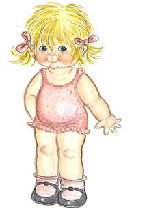 Too cute, looks like my youngest granddaughter.* The International Paper Doll Society Arielle Gabriel artist #QuanYin5 Twitter, Linked In QuanYin5 *