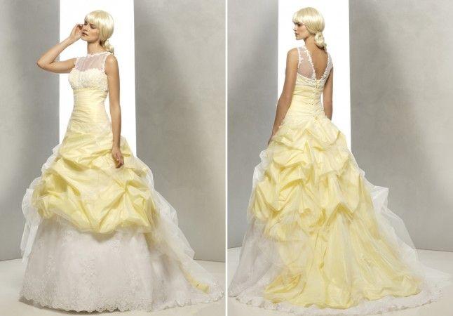 ...  Robes jaune pâle, Mariages jaunes et Robes jaune de mariée