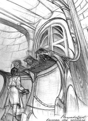 "Benoit Sokal's ""Syberia"" Sketches & Concept Art"