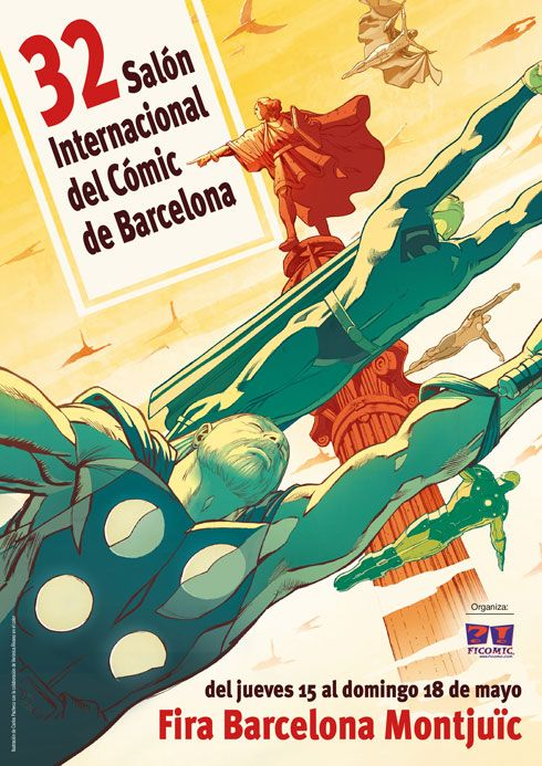 Pàgina oficial dels Salons del Còmic i el Manga que es celebren en Barcelona. Federación de Instituciones Profesionales del Comic -