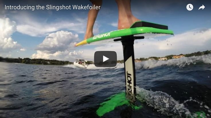 Wake Foiling is Newest Ride on the Lake - SeaDek Marine Products Blog