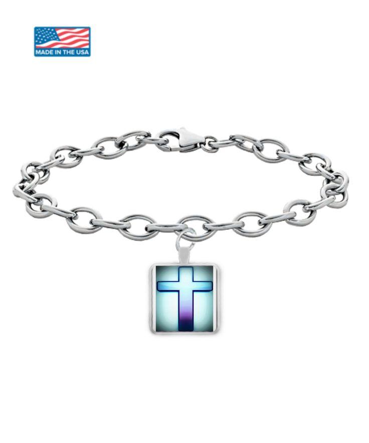 Wear Your Faith Holy Cross Bracelet