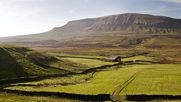 The mountains of Ingleborough, Pen-y-Ghent (pictured) and Whernside, make up Yorkshire's three highest peaks, collectively covering 24.5 miles and several thousand feet of ascent. Those who set out on the Three Peaks Challenge must conquer the summits of all three mountains in 12 hours or less