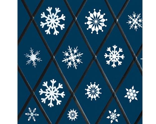 Window Snowflake Stickers £4  Make a spectacular display in your window with these snowflake stickers. Pack of 39 assorted designs. Assorted sizes.  Klife Kleeneze Xmas