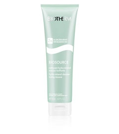 The best facial cleanser by Biotherm: Made with Zinc and very potent-- works for all seasons & most skin types! Removes all makeup and everything
