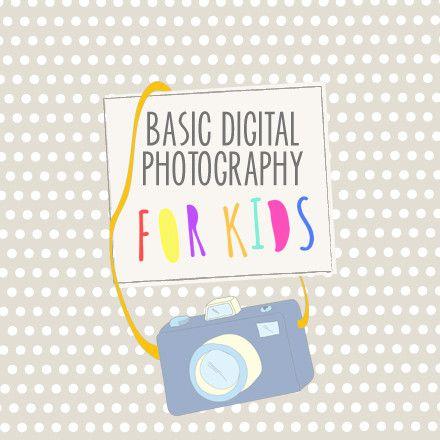 Basic Digital Photography for Kids - Course Curriculum - Bundle