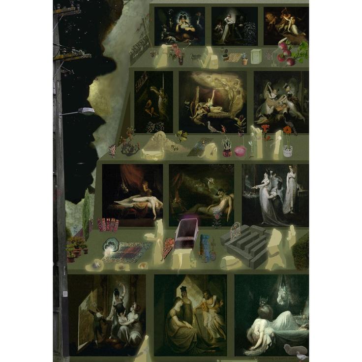 'Eine Ehrerbietung zu Henry Fuseli'  (2009)   Digital print ( ed of 3)