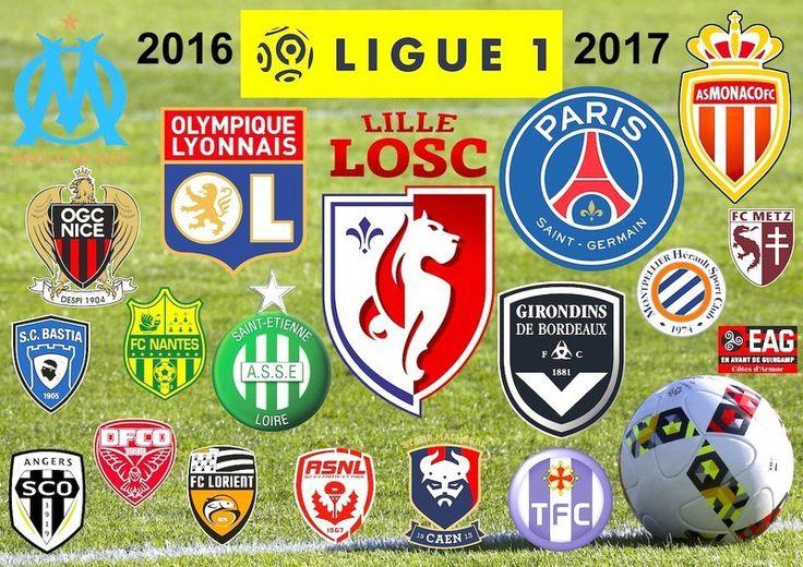 FOOTBALL LIGUE 1 SAISON 2016-2017 PRÉSENTATION ET CALENDRIER ...