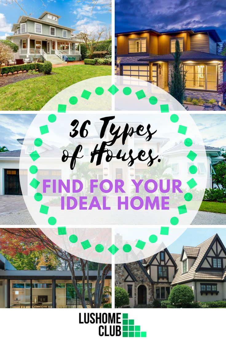 36 Different Types Of Houses Find For Your Ideal Home Photos