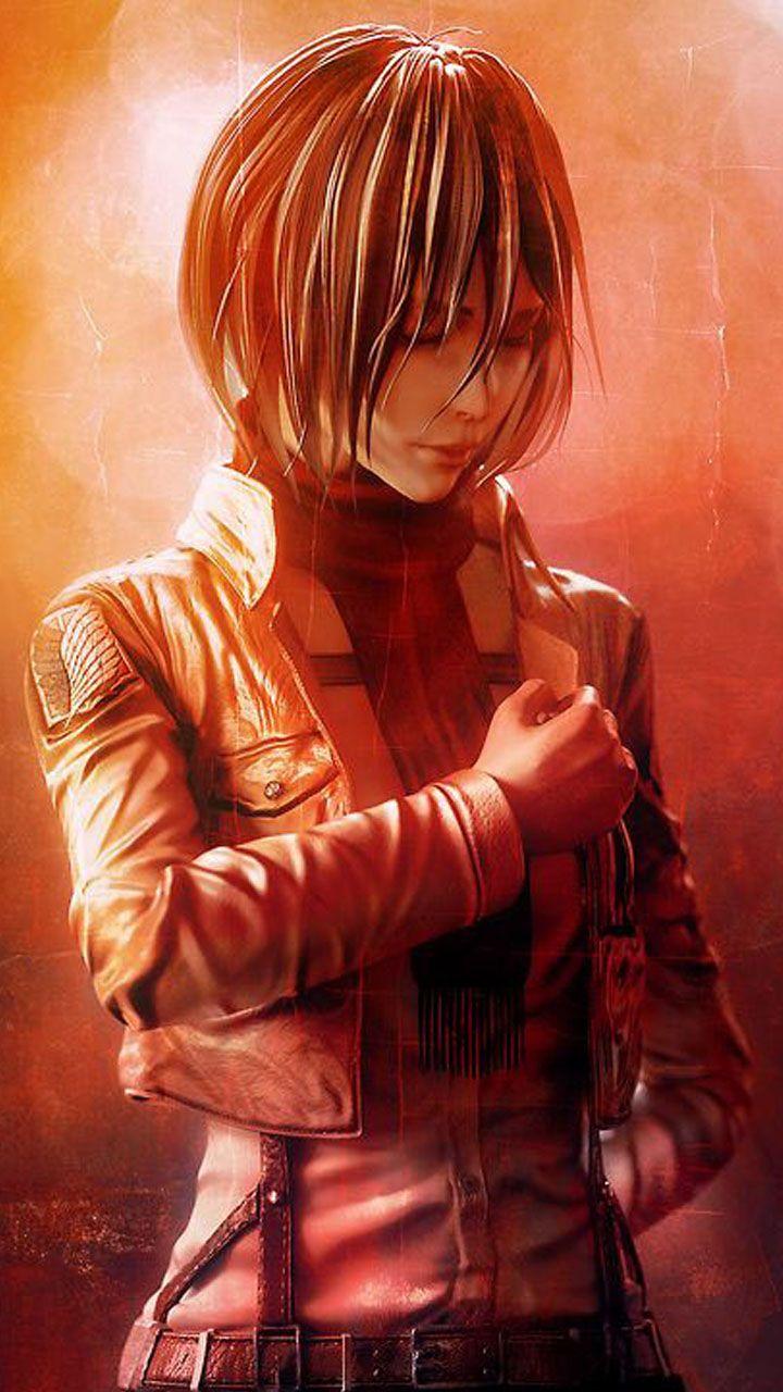 Mikasa Ackerman Di 2020 Attack On Titan Levi Ackerman Shingeki No Kyojin