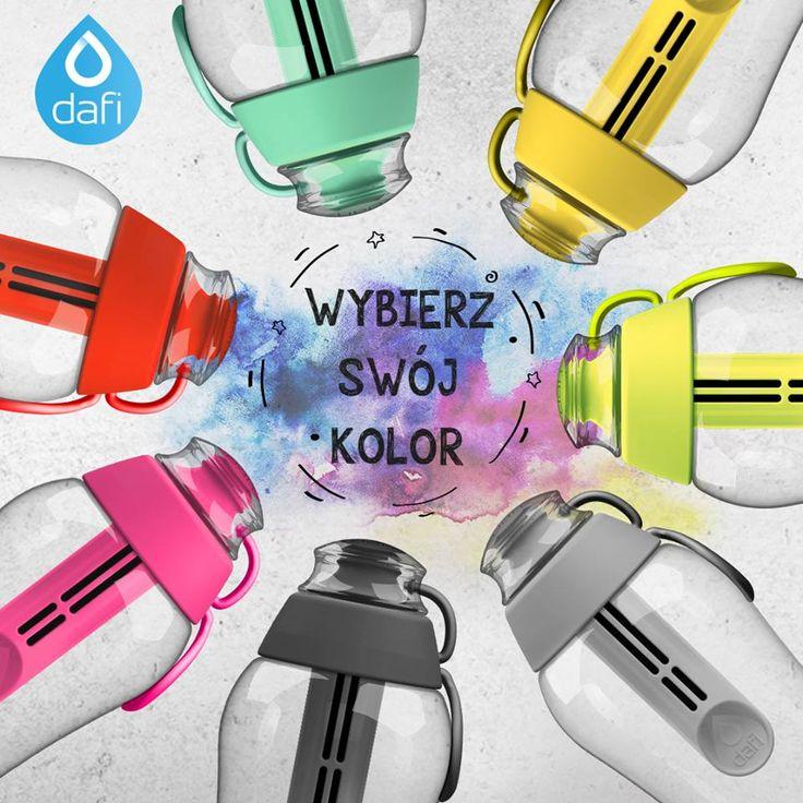 Wybierz swój kolor butelki filtrującej! ) Nespresso