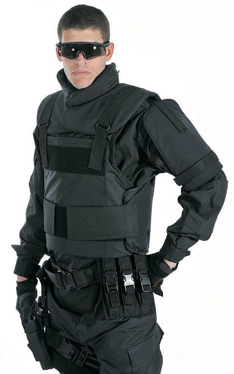 Bulletproof Vests, Ballistic Helmets, Bomb Blankets and Armour Inserts from http://www.army-technology.com/contractors/personal/elmon-co/